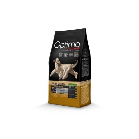 Optimanova Adult (Medium) Hühnchen & Kartoffel 12 kg / Hund
