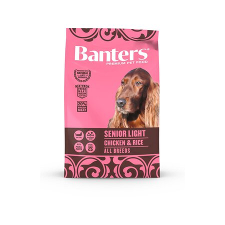 Banters DOG SENIOR LIGHT Hühnchen & Reis 100g / Probe