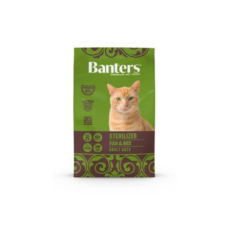 Banters CAT STERILIZED Fisch & Reis 2 kg